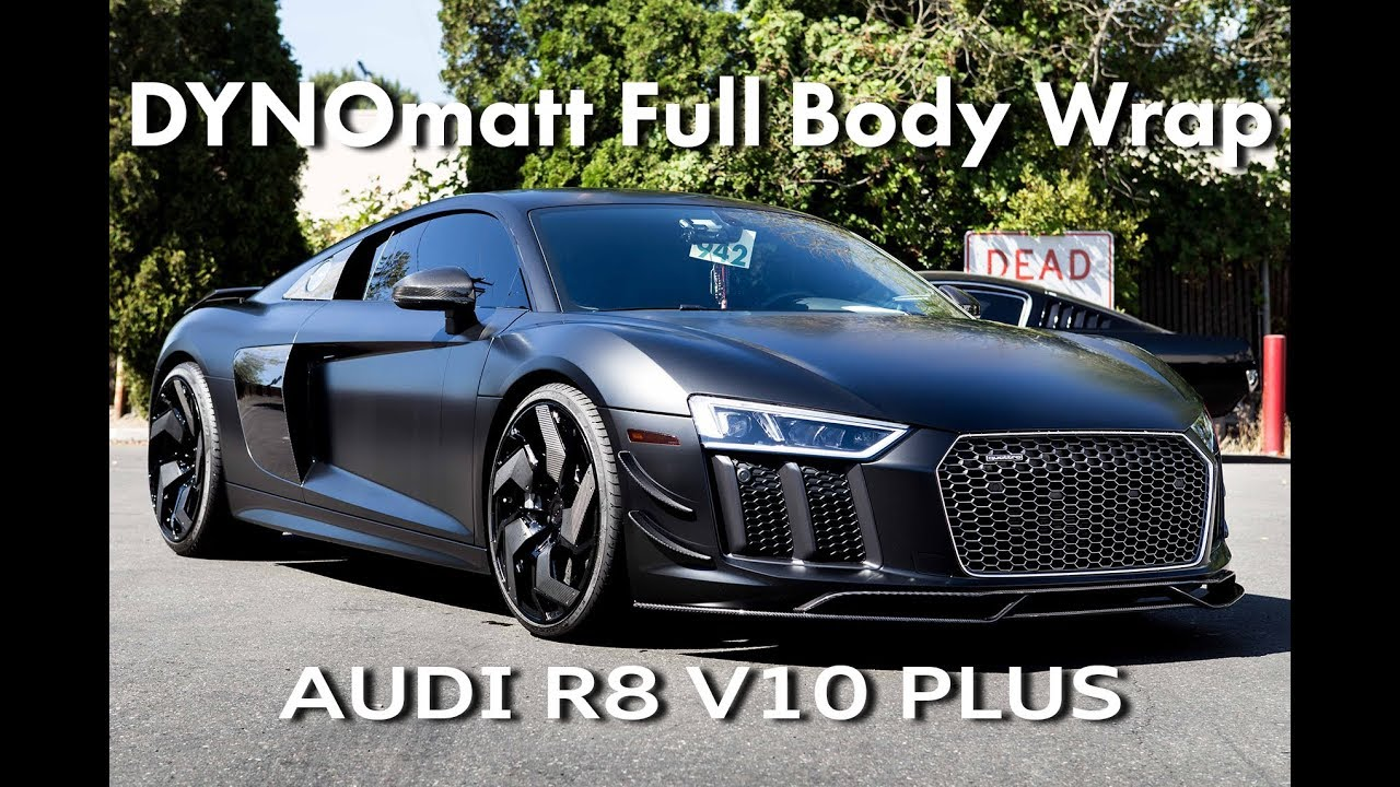 Audi R8 V10 Plus Full Body Wrap Stek Dynomatt Youtube