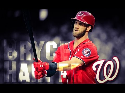 Bryce Harper | Nationals 2016 highlights |