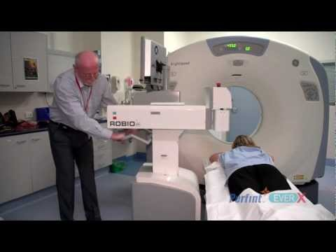 EverX Robio - Advanced Robotic Positioning for CT and PET CT guided interventions
