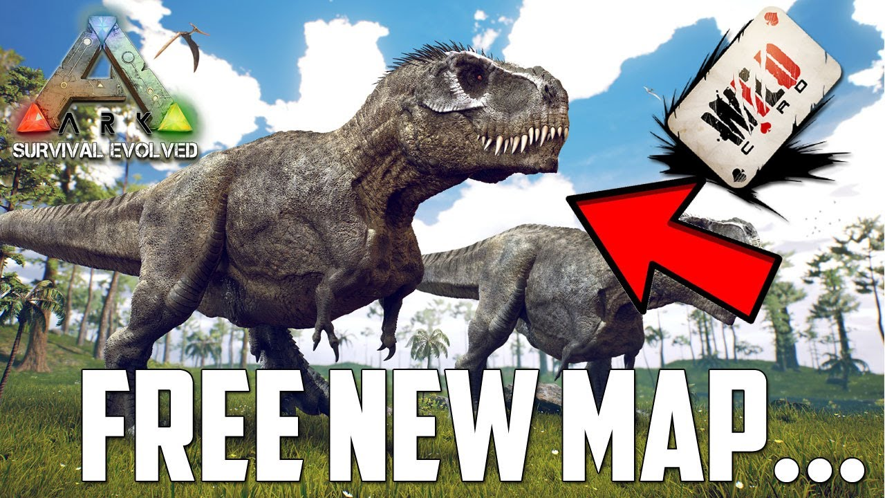 The Last *FREE* MAP for ARK Survival Evolved 1? (XBOX/PS4/PC) thumbnail