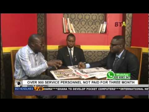 Service Personnel Not Paid For Three Months