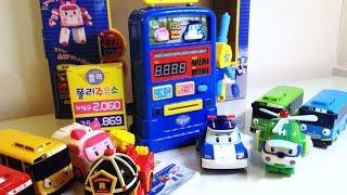 로보카폴리 주유소 장난감 놀이 폴리 타요 Robocar Poli Toys Робокар Поли Игрушки Tayo 라임튜브