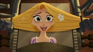 Video Tangled: the Series - What the Hair?! - Trying To Shine Hair -  CLIP download MP3, 3GP, MP4, WEBM, AVI, FLV Juni 2017