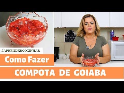 Compota de Goiaba - Como Fazer