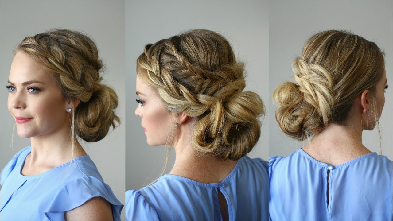 homecoming hairstyles faviana french updo