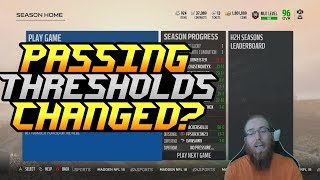 EA Changed the Passing Thresholds?! Super Bowl Gameplay! Madden 18 Ultimate Team 2017 Video
