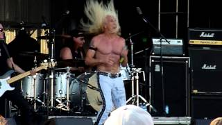Dee Snider (Twisted Sister) - I Wanna Rock (at Ribfest 2014)