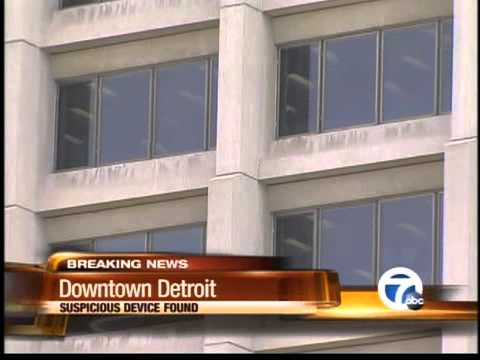 Suspicious package found at federal building