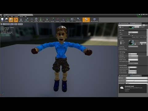 Unreal Engine 4 21 Putting together a Game with some Destructible Meshes