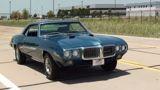 Test Driving 1969 Pontiac Firebird 400 V8 Four-Speed
