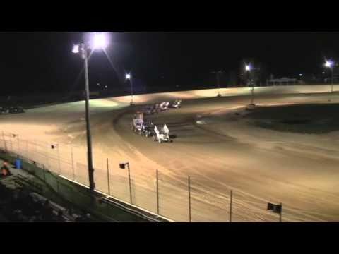 i-96 speedway  gold cup  9-25-10 b-main sprints