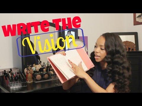 Write The Vision & Make It Plain: You Need a Dream Book!
