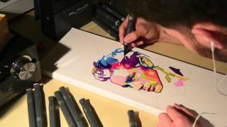 James Dean - Birthday Canvas Painting