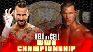 HELL IN A CELL 2013 Dream Match Card