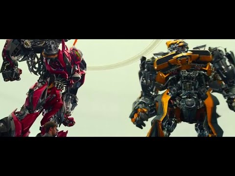 Transformers : Dark of the Moon Fight Scene Highway Chase ...
