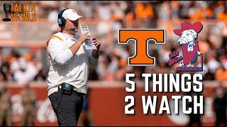 Tennessee vs Ole Miss | 5 Things to Watch