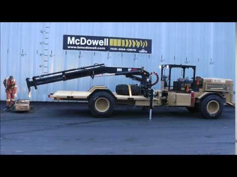 McDowell Equipment - Marcotte Mining Services Boom Truck