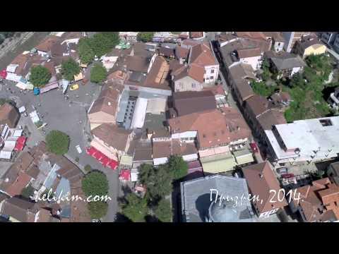 Prizren iz helikoptera