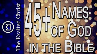 Names of God - Ręvealed Through The Bible