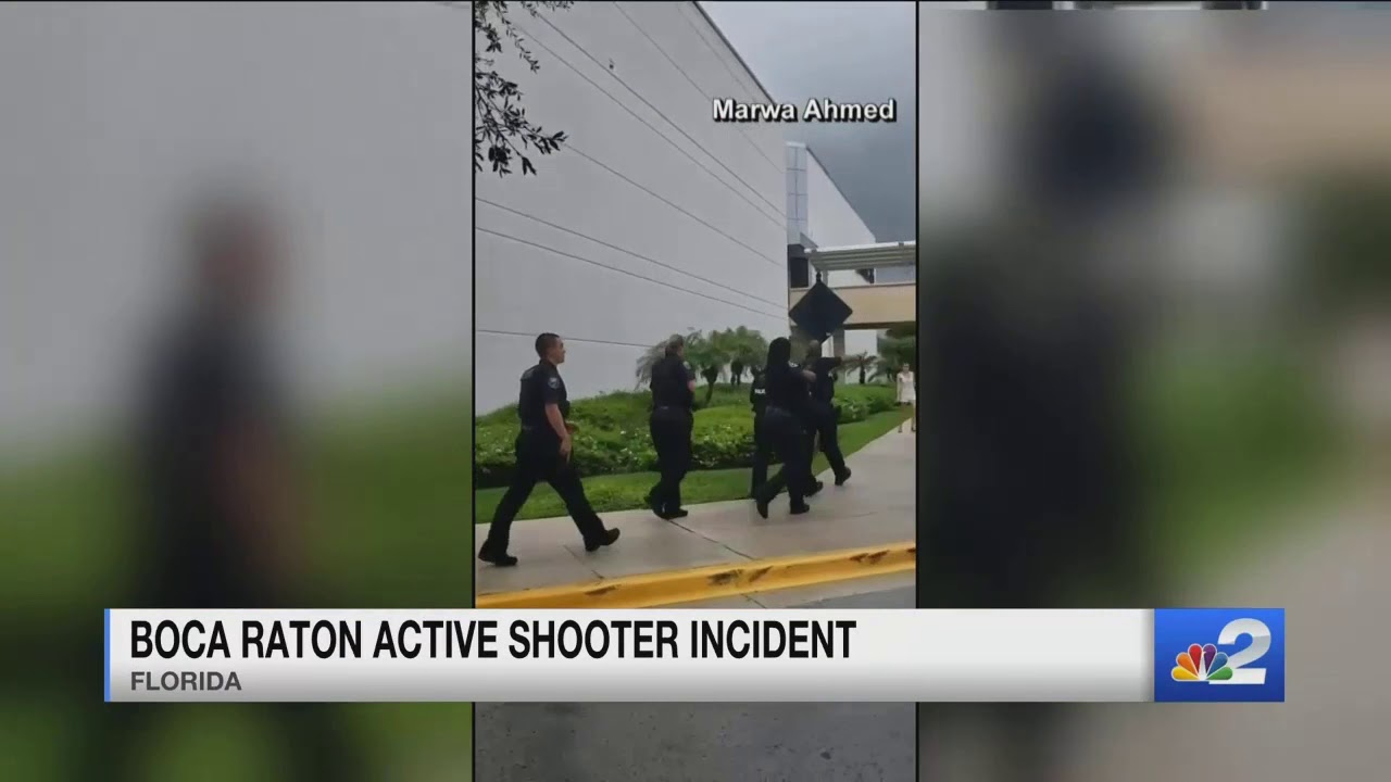 False report of an active shooter at a Boca Raton mall causes chaos