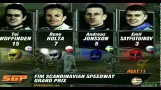 FULL VERSION 2010 FIM Speedway Grand Prix Malilla  14th August 2010