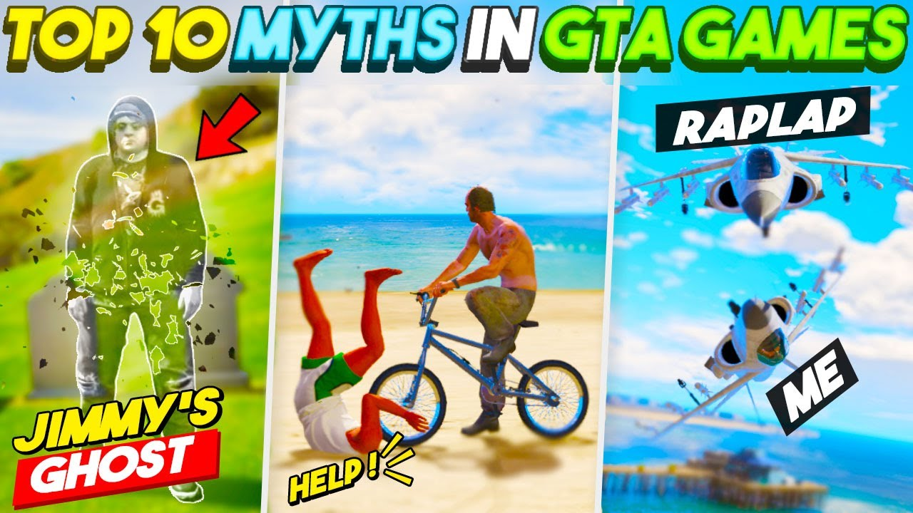 Real JIMMY'S GHOST 😱 Top 10 *SHOCKING* MYTHBUSTERS  In GTA Games That Will Blow Your Mind! #12