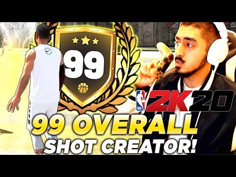 I GOT 99 OVERALL WITH A SHOT CREATOR in 2K20