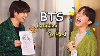 BTS laughing so hard (BTS Funny Moments)