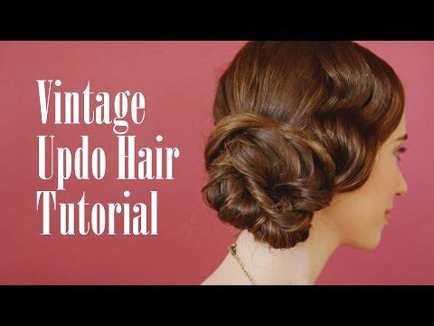 vintage-updo-hair-tutorial