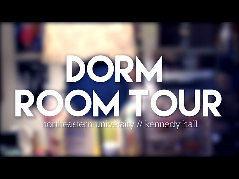 Dorm Room Tour: Northeastern University (Kennedy Hall) // sophisr