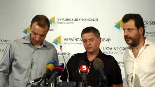 Kharkiv Activists. Ukraine Crisis Media Center, 8th Of August 2014