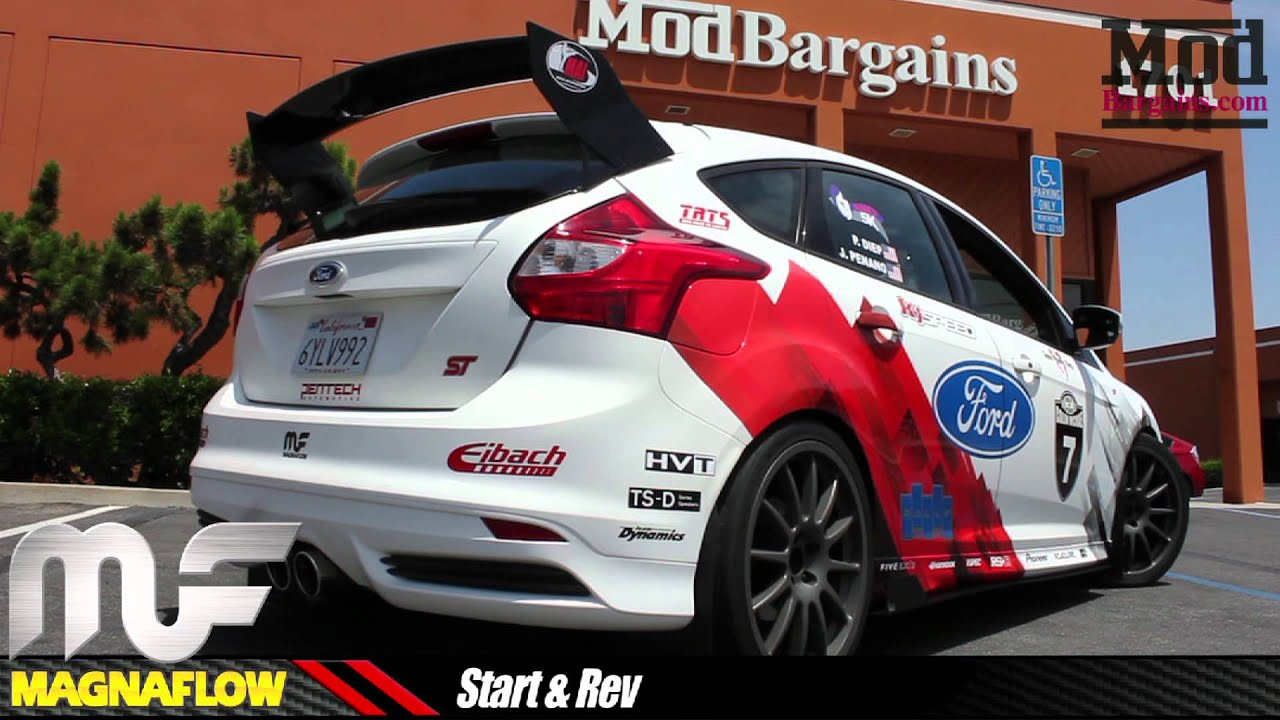 Rally Innovations Ford Focus St Visits Modauto Magnaflow
