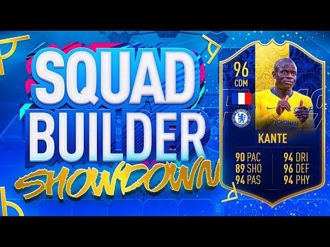 FIFA 19 SQUAD BUILDER SHOWDOWN!!! TEAM OF THE YEAR KANTE VS ITANI!!! The Ultimate Fifa Series Finale thumbnail