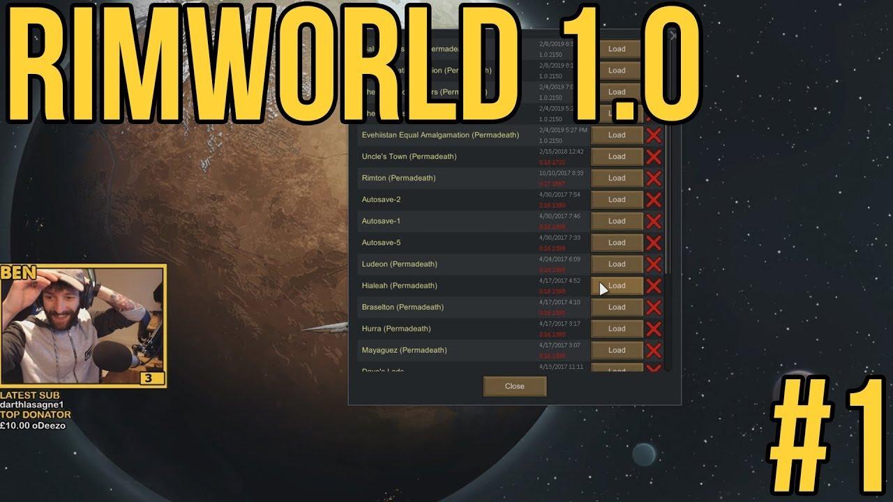 Rimworld 1 0 / A New Colony #1