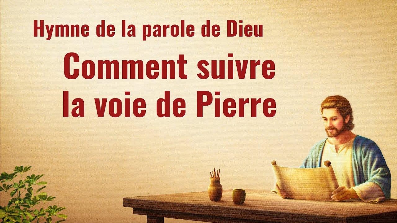 Cantique en français 2020 « Comment suivre la voie de Pierre »