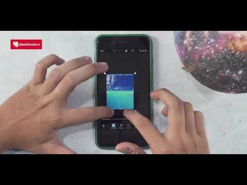Hướng dẫn ghép mây vào ảnh trên điện thoại bằng Picsart