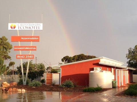 Building The Ecomotel - Port Augusta, South Australia