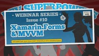 Xamarin.Forms & MVVM | Dev Superpowers Episode 10 | David Burela