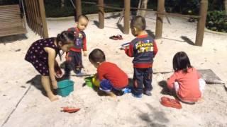 Outdoor playground for kids, Sandbox toys, Kids' sandboxes, Songs for kids