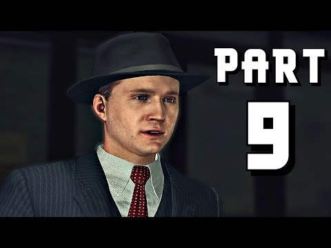 Let's Play L.A. Noire - Part 9 (The Silk Stocking Murder) Gameplay