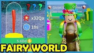 New Update! Fairy World & Buying Godly Sword - Roblox Unboxing Simulator