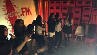 Uptown Funk Fifth Harmony impersonators Live