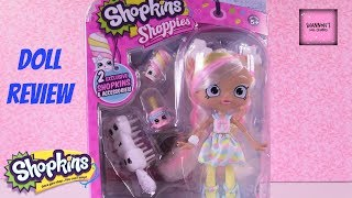 Marsha Mellow Shopkins Shoppies Season 8 Doll Review Channel Unboxing | ShannonsDollChannel