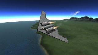B-2, F-22, F-35, F-18, Microjet [KSP-1.0.4]