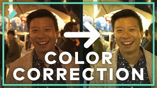 How To Fix Footage With Color Correction   Filmora9