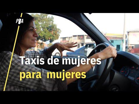 Taxis de mujeres para mujeres en El Salvador