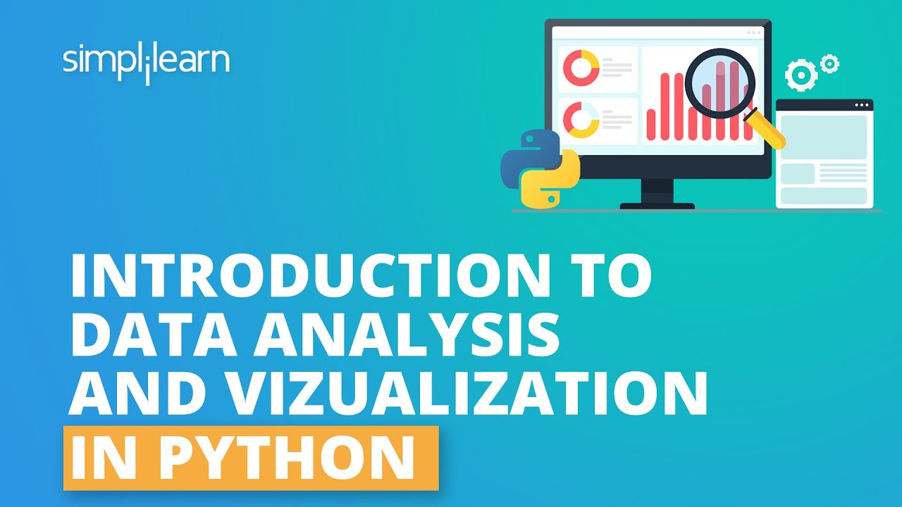 Introduction To Data Analysis Using Python | Data Analysis And Visualization With Python