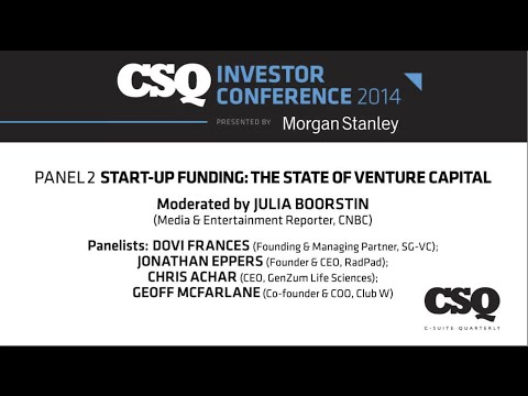 Start-Up Funding: The State of Venture Capital