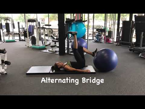 Hamstring Strengthening- Single Leg Stability Ball- Austin, TX- PACE Physical Therapy