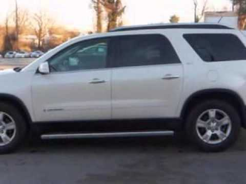 Used 2008 GMC Acadia SLT-2 Greensboro, Winston Salem High Po